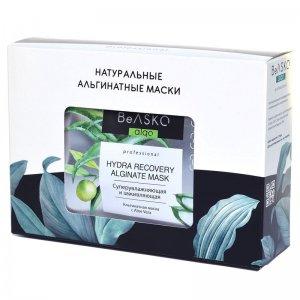 Альгинатная маска суперувлажняющая и заживляющая с Aloe Vera / Hydra Recovery Alginate Mask, BeASKO - 6*30 гр