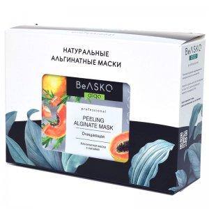 Альгинатная маска очищающая с папаей / Peeling Alginate Mask, BeASKO - 6*30 гр
