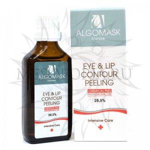 Химический пилинг для кожи вокруг глаз и губ Eye & Lip Contour Peeling, Algomask, 50 мл купить