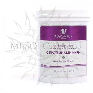 Альгинатная маска против морщин на лице с протеинами икры (транслюцентная) (Elixir of Caviar Peel of Mask), 200 гр Algomask купить