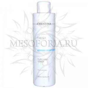 Очищающий тоник для нормальной кожи / Purifying Toner for normal skin, Fresh, Christina (Кристина) - 300 мл
