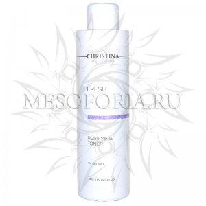 Очищающий тоник для сухой кожи / Purifying Toner for dry skin, Fresh, Christina (Кристина) - 300 мл