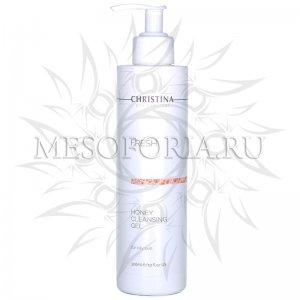 Медовый очищающий гель для жирной кожи / Honey Cleansing Gel for oily skin, Fresh, Christina (Кристина) - 300 мл