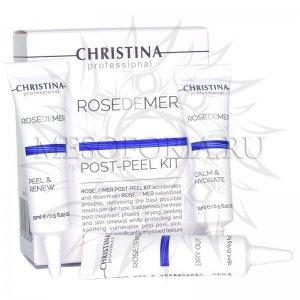 Набор для постпилингового ухода (3 препарата), / Post Peel Kit, Rose de Mer, Christina (Кристина)