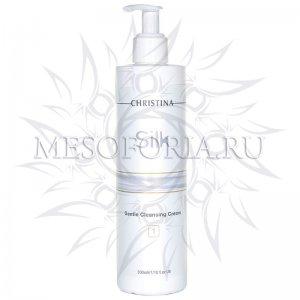Мягкий очищающий крем (шаг 1) / Gentle Cleansing Cream, Silk, Christina (Кристина) - 300 мл