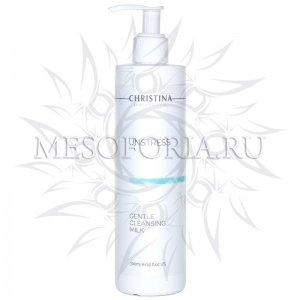 Нежное очищающее молочко / Gentle Cleansing Milk, Unstress, Christina (Кристина) - 300 мл