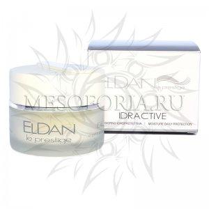 Увлажняющий крем с рисовыми протеинами / Idractive Moisture Daily Protection Cream, Le Prestige, Eldan Cosmetics (Элдан косметика), 50 мл
