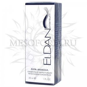 Интенсивное средство ECTA 40+ / ECTA Essence Retexturizing Concentrate, Premium, Eldan Cosmetics (Элдан косметика), 30 мл