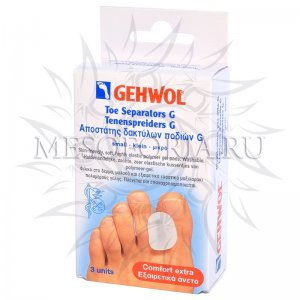 Гель-корректоры G, большие / Toe Separators G large, Gehwol (Геволь), 3 шт