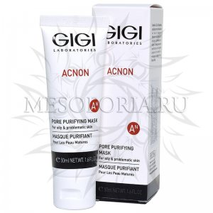 Маска для глубокого очищения пор / Pore Purifying Mask, Acnon, GiGi (Джи Джи) - 50 мл