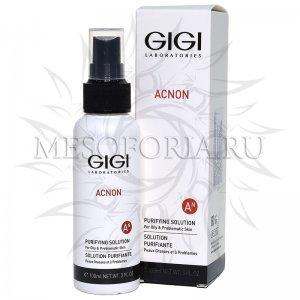 Эссенция-спрей для проблемной и жирной кожи / Purifying Solution, Acnon, GiGi (Джи Джи) - 100 мл