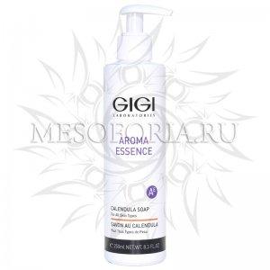 """Мыло жидкое """"Календула"""" для всех типов кожи / Soap Calendula for all skin, Aroma Essence, GiGi (Джи Джи) - 250 мл"""