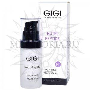 Пептидная оживляющая сыворотка / Vitality Serum, GiGi, Nutri-Peptide, 30 мл