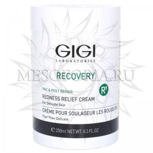 Крем успокаивающий от покраснений и отечностей / Redness Relief Cream, Recovery, GiGi (Джи Джи) - 250 мл
