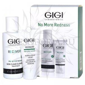 Дорожный набор для чувствительной и поврежденной кожи / No More Redness, Recovery, GiGi (Джи Джи) - 60 + 15 мл