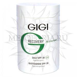 Крем увлажняющий восстанавливающий / Daily SPF - 30, Recovery, GiGi (Джи Джи) - 250 мл