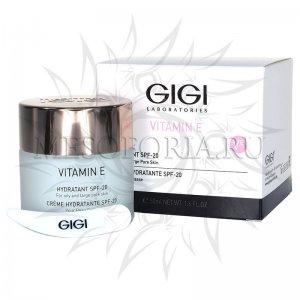 Крем увлажняющий для жирной кожи SPF 20 / Hydratant SPF 20, Vitamin E, GiGi (Джи Джи) - 50 мл