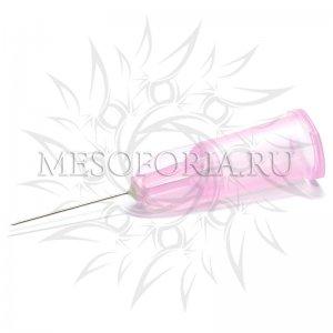"Иглы для мезотерапии и микроинъекций ""Meso-relle"" 32G (0.23 х 12 мм), 1 шт"