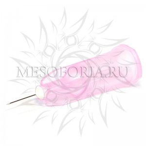 "Иглы для мезотерапии и микроинъекций ""Meso-relle"" 32G (0.23 х 6 мм), 1 шт"