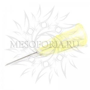 Игла для мезотерапии одноразовая инъекционная стерильная 30G (0,3 х 13 мм), SFM, 1 шт