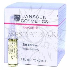 Антистресс (чувствительная кожа) / De-Stress, Ampoules, Janssen Cosmetics (Янсен косметика), 25 х 2 мл