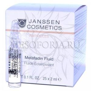 Осветляющий концентрат / Melafadin Fluid, Ampoules, Janssen Cosmetics (Янсен косметика), 25 х 2 мл