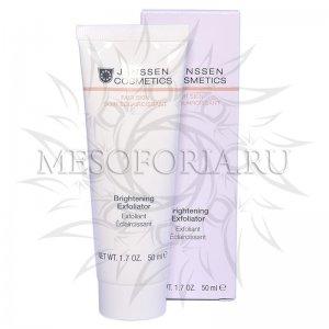 Пилинг-крем для выравнивания цвета лица / Brightening Exfoliator, Fair Skin, Janssen Cosmetics (Янсен косметика), 50 мл
