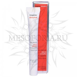 Бальзам против акне с тонирующим и маскирующим эффектом / Anti Blemish Balm, Inspira Absolue, Janssen Cosmetics (Янсен косметика), 15 мл