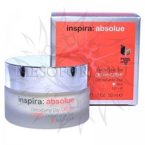 Детоксицирующий обогащенный увлажняющий дневной крем / Detoxifying Day Cream Rich, Inspira Absolue, Janssen Cosmetics (Янсен косметика), 50 мл