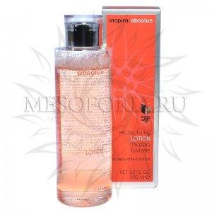 Мицеллярный тонизирующий лосьон / Micellar Toning Lotion, Inspira Absolue, Janssen Cosmetics (Янсен косметика), 200 мл