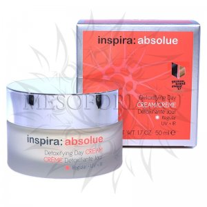 Детоксицирующий легкий увлажняющий дневной крем / Detoxifying Day Cream Regular, Inspira Absolue, Janssen Cosmetics (Янсен косметика), 50 мл