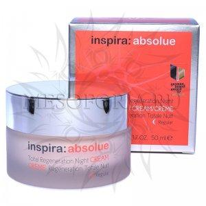 Легкий ночной регенерирующий лифтинг-крем / Total Regeneration Night Cream Regular, Inspira Absolue, Janssen Cosmetics (Янсен косметика), 50 мл