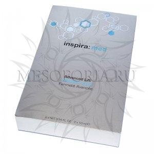 Лифтинг-сыворотка с пептидами меди и витамином А / Advanced Lift Therapy CU-X, Inspira Med, Janssen Cosmetics (Янсен косметика), 2 x 10 мл