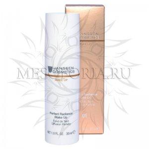 Стойкий тональный крем с UV-защитой SPF-15 (порцелан) / Perfect Radiance Make Up (01), Janssen Cosmetics (Янсен косметика), 30 мл