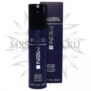 Легкий Anti-Age дневной крем 24-часового действия / 24/7 Skin Energizer, Man, Janssen Cosmetics (Янсен косметика), 50 мл