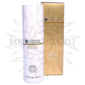 Мицеллярный тоник с гиалуроновой кислотой / Micellar Skin Tonic, Janssen Cosmetics (Янсен косметика), 200 мл