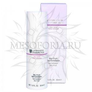 Биокомплекс с фруктовыми кислотами / Bio-Fruit Gel Exfoliator, Oily Skin, Janssen Cosmetics (Янсен косметика), 30 мл