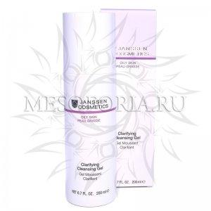 Очищающий гель / Clarifying Cleansing Gel, Oily Skin, Janssen Cosmetics (Янсен косметика), 200 мл