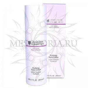 Тоник для жирной кожи и кожи с акне / Purifying Tonic Lotion, Oily Skin, Janssen Cosmetics (Янсен косметика), 200 мл