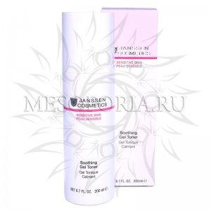 Успокаивающий тоник / Soothing Gel Toner, Sensitive Skin, Janssen Cosmetics (Янсен косметика), 200 мл