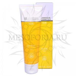 Солнцезащитная эмульсия для лица и тела СПФ 30 / Sun Shield SPF 30, Janssen Cosmetics (Янсен косметика), 150 мл