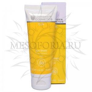 Эмульсия для лица и тела с максимальной защитой СПФ 50 / Sun Shield SPF 50, Janssen Cosmetics (Янсен косметика), 75 мл