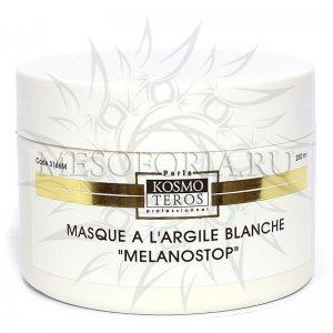"""Маска с белой глиной """"MELANOLUX"""", Masque a largile blanche melanostop, Kosmoteros (Космотерос) 250 мл купить"""