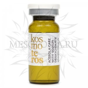 Концентрат с ацеролой и дезоксихолатом натрия / Acerola Care With Sodium Deoxycholate KOSMOLITIC III-IV, Kosmoteros (Космотерос), 8 мл