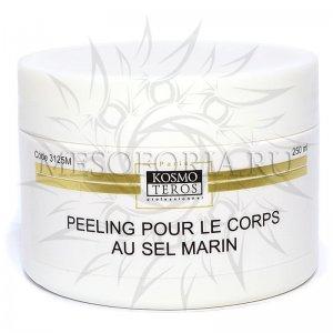 Деликатный пилинг с морской солью, Peeling pour le corps au sel marin, Kosmoteros (Космотерос), 250 мл