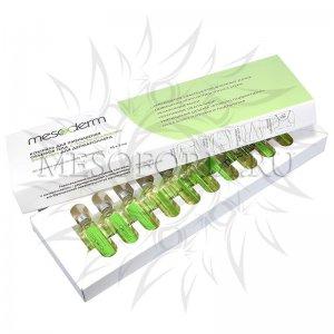 Коктейль для уменьшения объемов тела с подтягивающим эффектом для дермароллера, Mesoderm (Мезодерм), 10 амп*5 мл
