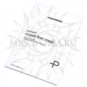 Постпилинговая успокаивающая маска / Crystal fiber mask post peel, Mesoestetic, 1 шт купить