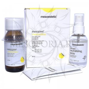 Melanostop peel / Депигментирующий пилинг Mesoestetic, 50 мл (набор пилинг 50 мл + нейтрализатор 50 мл)