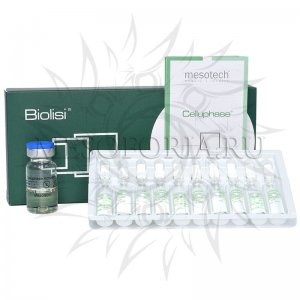 Антицеллюлитная сыворотка Целлюфейз / Celluphase, Mesotech (Мезотек) - 10 x 2 мл