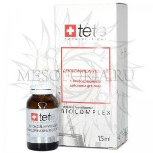 Биокомплекс Tete детоксифицирующий с лимфодренажным действием, 15 мл
